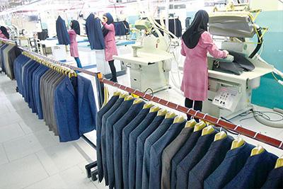 حمایت از تولید پوشاک