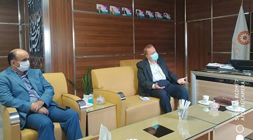 دیدار موسس بکوجا با مدیر کل بهزیستی استان مازندران