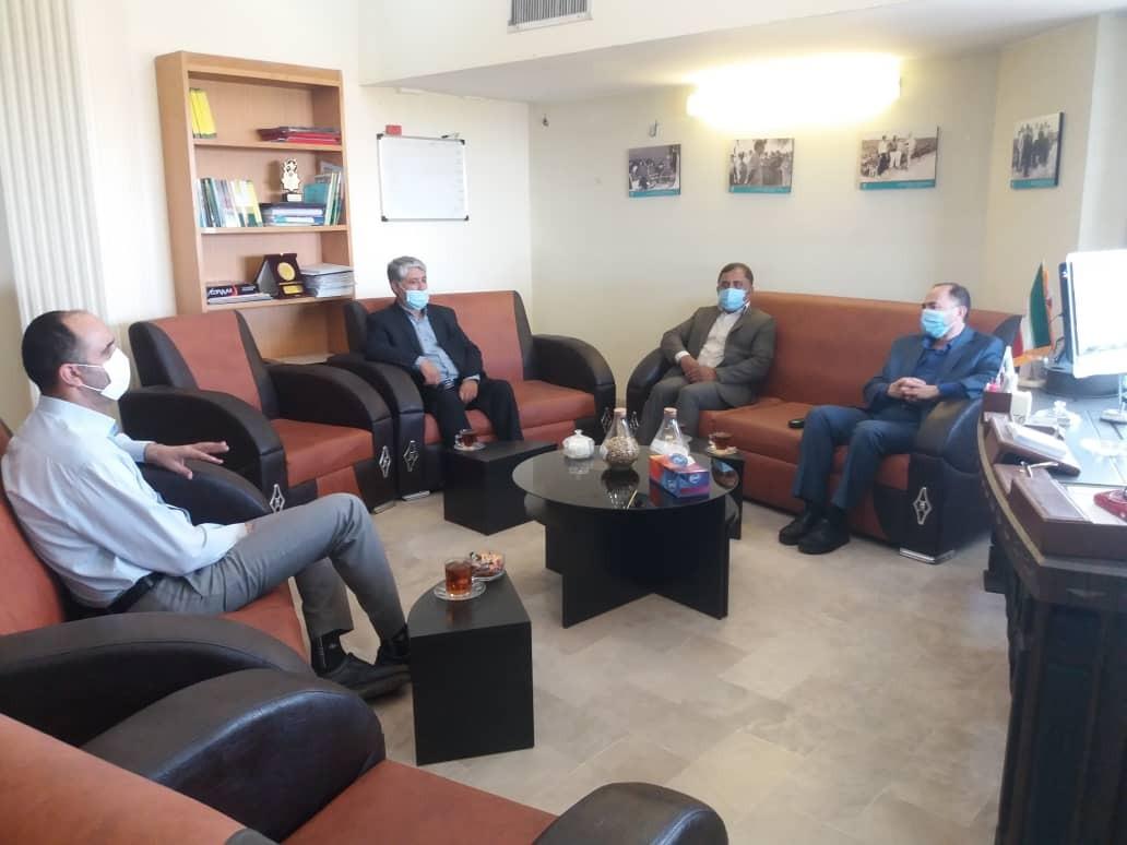 شبکه ملی نخبگان بکوجا-ملاقات با رییس مرکز تحقیقات و آموزش کشاورزی و منابع طبیعی گلستان