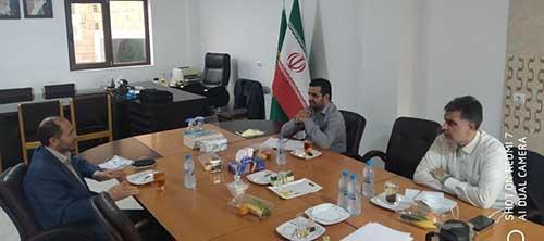 دیدار موسس بکوجا با رییس نظام مهندسی کشاورزی استان مازندران