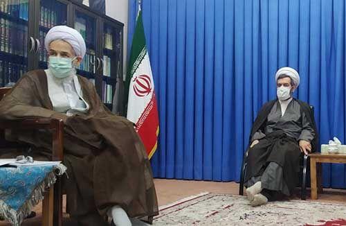 دیدار موسس بکوجا با نماینده ولی لفقیه در استان مازندران