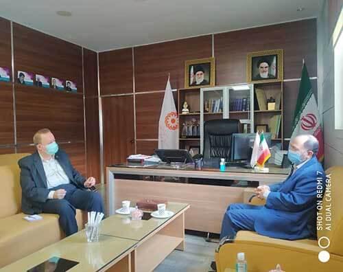 دیدار با مدیر کل بهزیستی استان مازندران