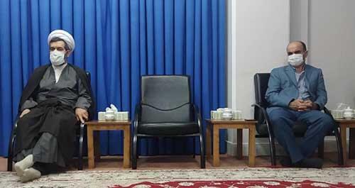 دیدار موسس بکوجا با نماینده ولی فقیه در استان مازندران