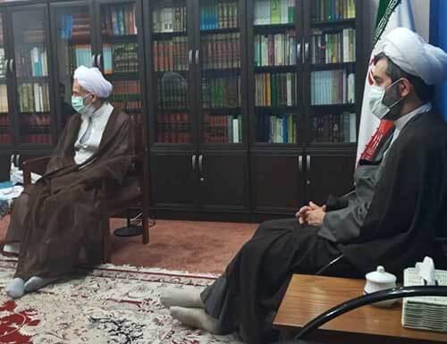 دیدار با نماینده ولی فقیه در استان مازندران