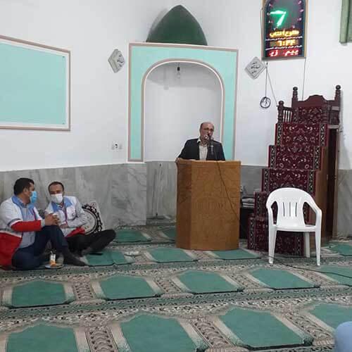 دکتر عرفانی در اولین نشست در روستای گرجی آباد
