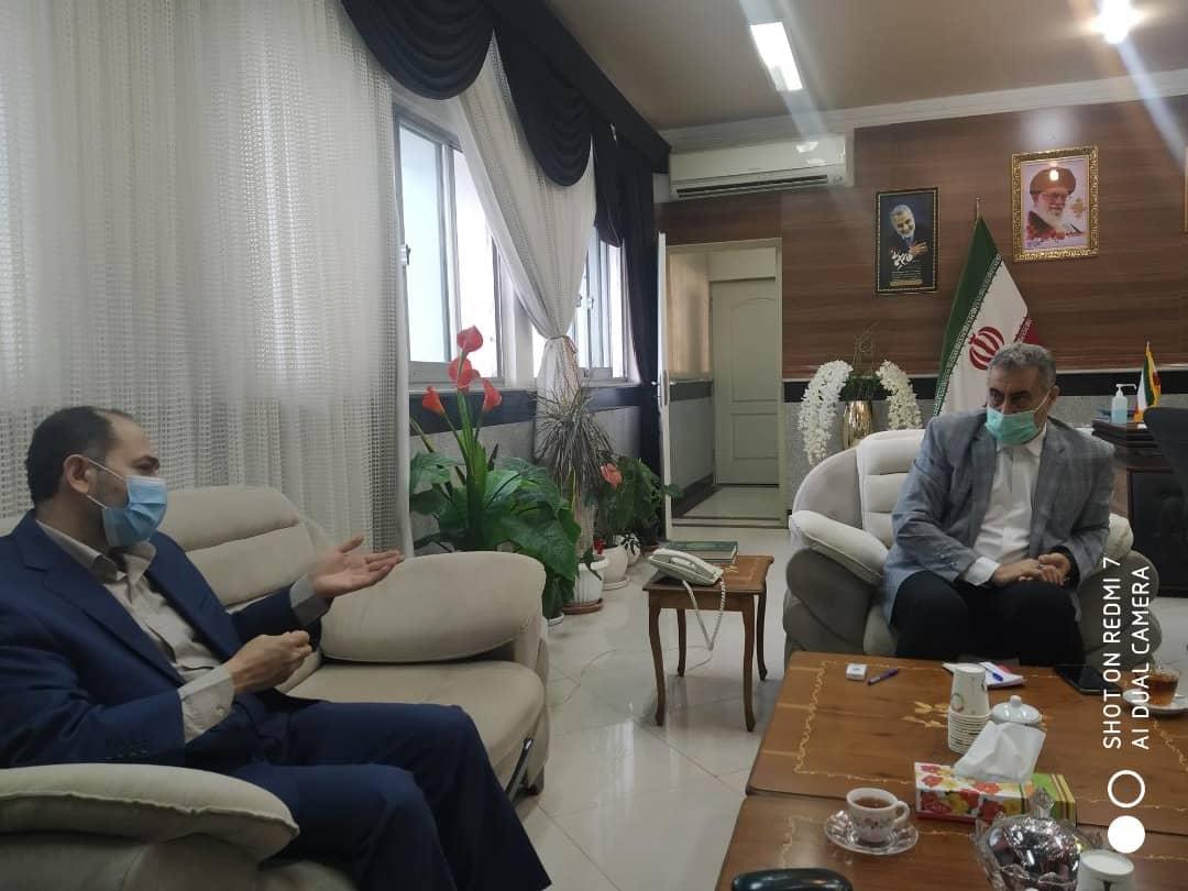 دیدار موسس بکوجا با مدیر کل آموزش و پرورش استان مازندران