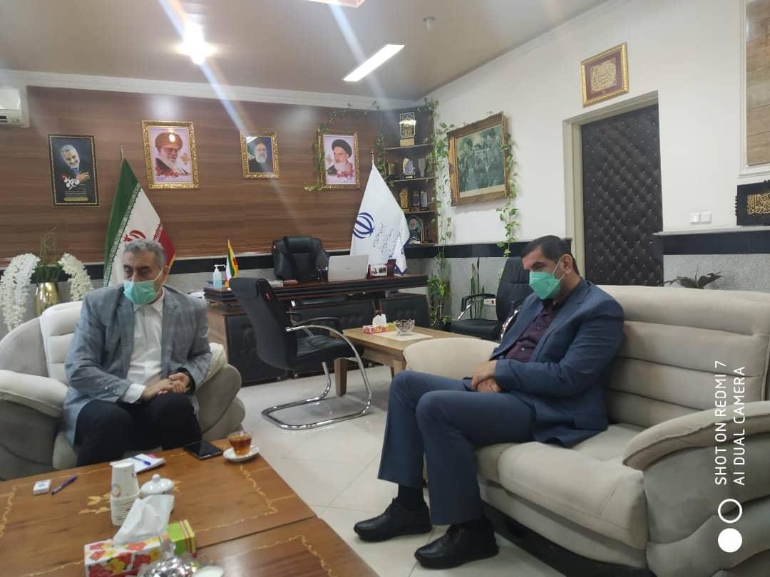 دیدار موسس بکوجا با مدیر کل اموزش و پرورش استان مازندران