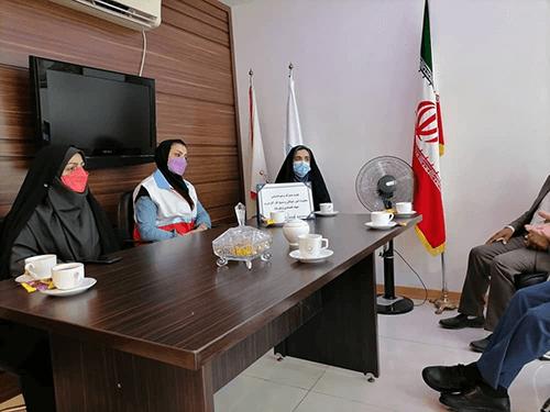 سومین جلسه هماهنگی با هلال احمر استان گلستان