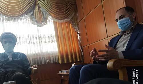 دیدار با ریاست دانشگاه ازاد اسلامی واحد ساری