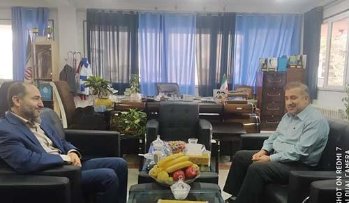 جلسه با فرماندار شهرستان جویبار