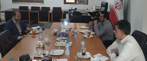دیدار موسس بکوجا با رئیس سازمان نظام مهندسی کشاورزی استان مازندران