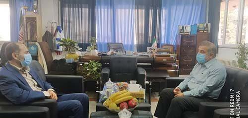 دیدار با فرماندار شهرستان جویبار