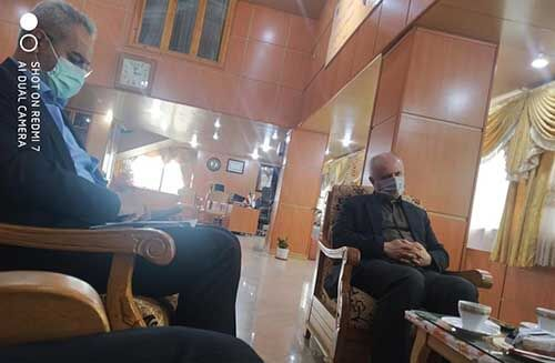 دیدار موسس بکوجا با مدیران دانشگاه ازاد اسلامی واحد ساری