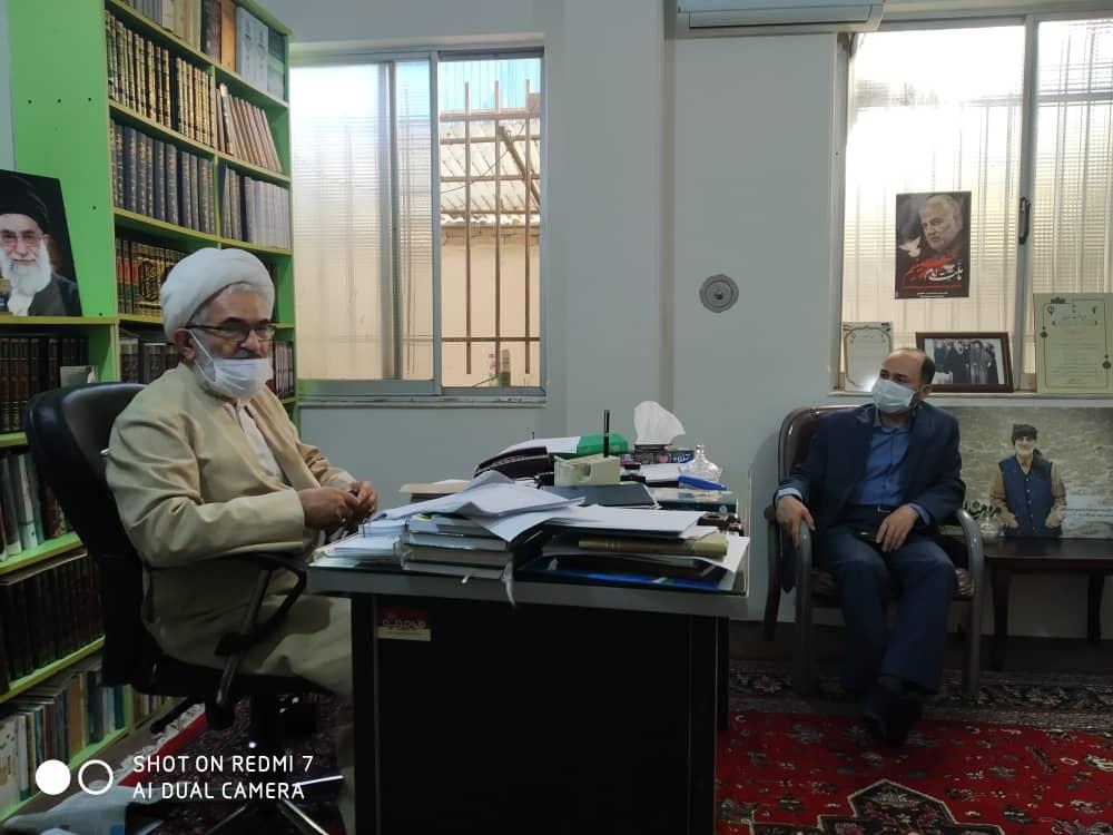 سید علی لطفی زاده- حاج آقا معلمی