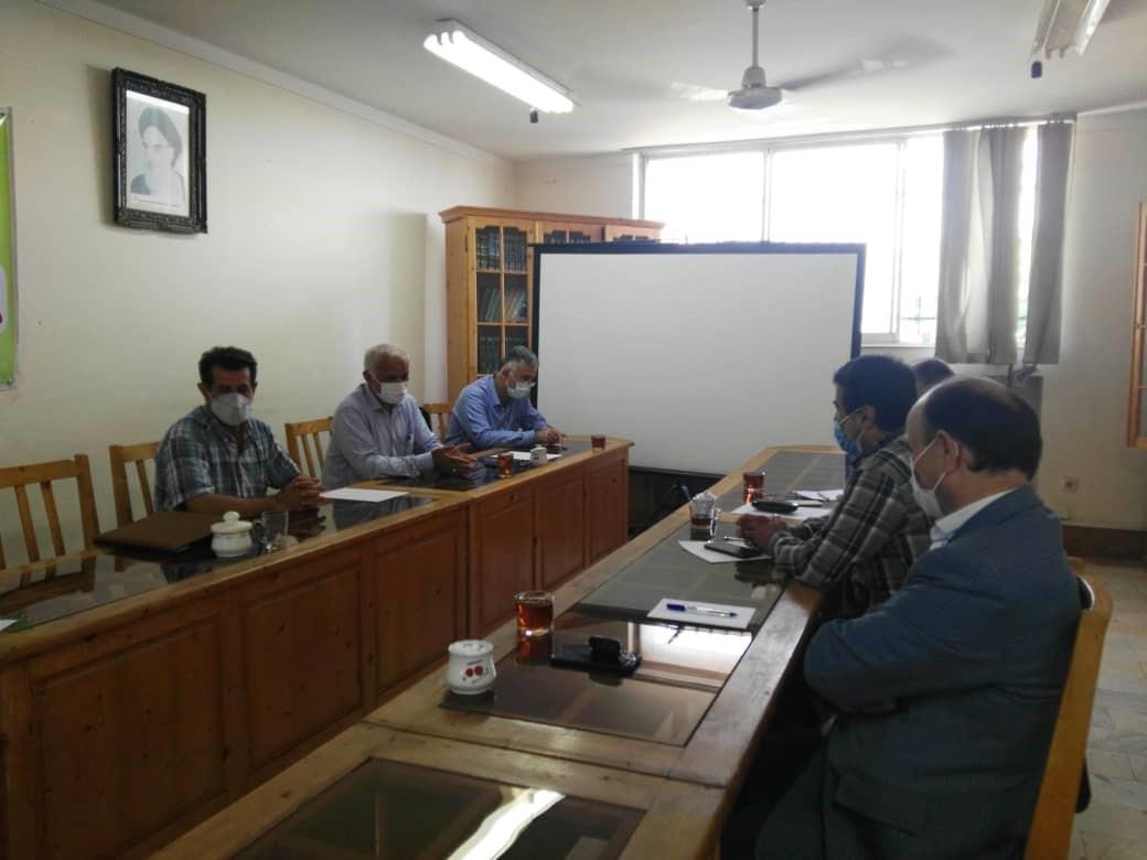 جلسه هماهنگی با نمایندگان بکوجا در شهرستان های نوشهر- چالوس و تنکابن