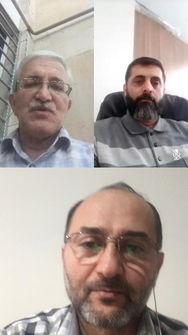 آقایان مهندسین سیدعلی لطفی زاده-علی کیانی و آقای دانشمند
