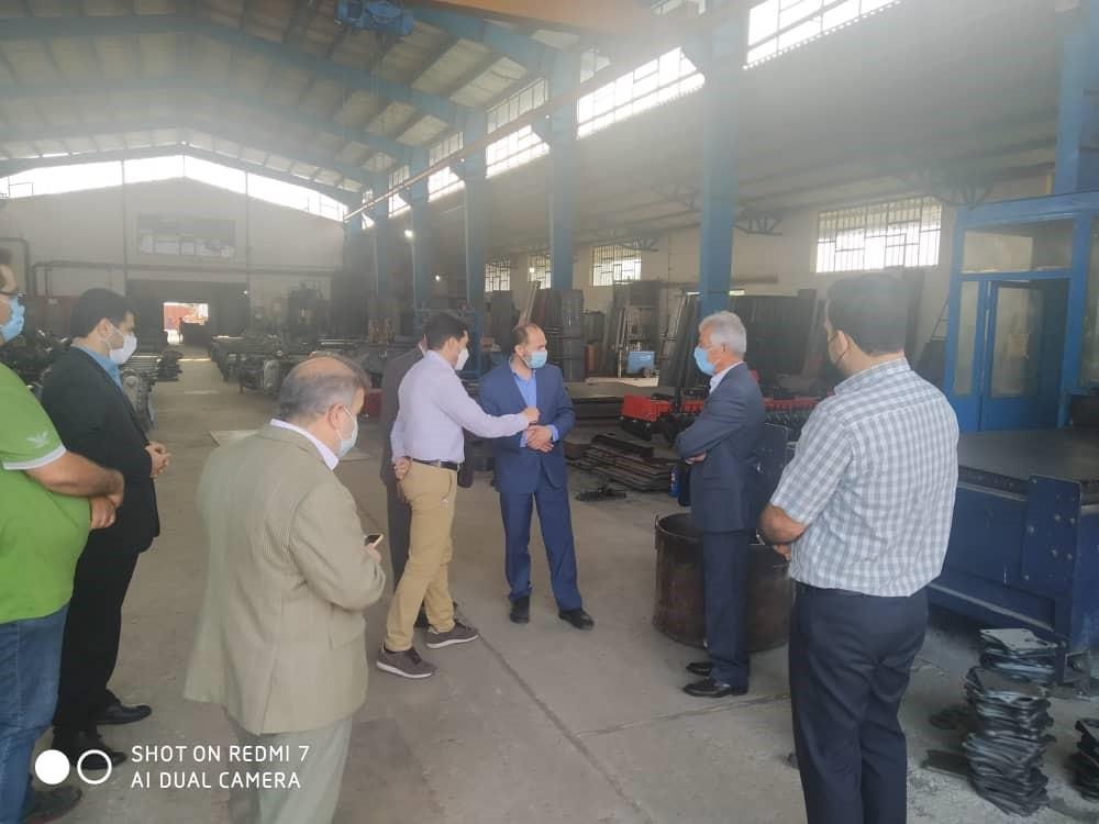 بازدید از کارخانه تولید ادوات کشاورزی