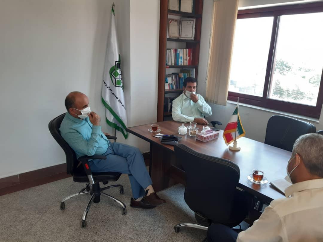 جلسه بکوجا با بسیج مهندسین عمران و معماری استان مازندران