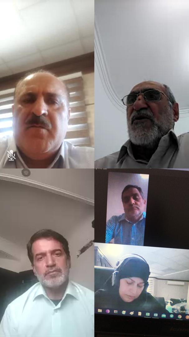 همکاران افتخاری بکوجا- خانم دکتر حسینی-دکتر نعمت زاده- دکتر عرفانی مقدم- مهندس محسن سلطانی- مهندس عقیل قدیم
