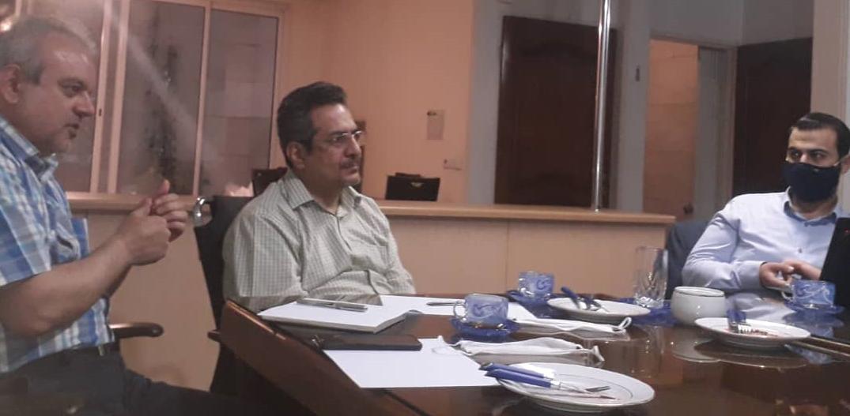 همکاران افتخاری بکوجا- آقایان یوسف تیموری- محمدصالح حجت الاسلامی- محمدمهدی پیروزانی