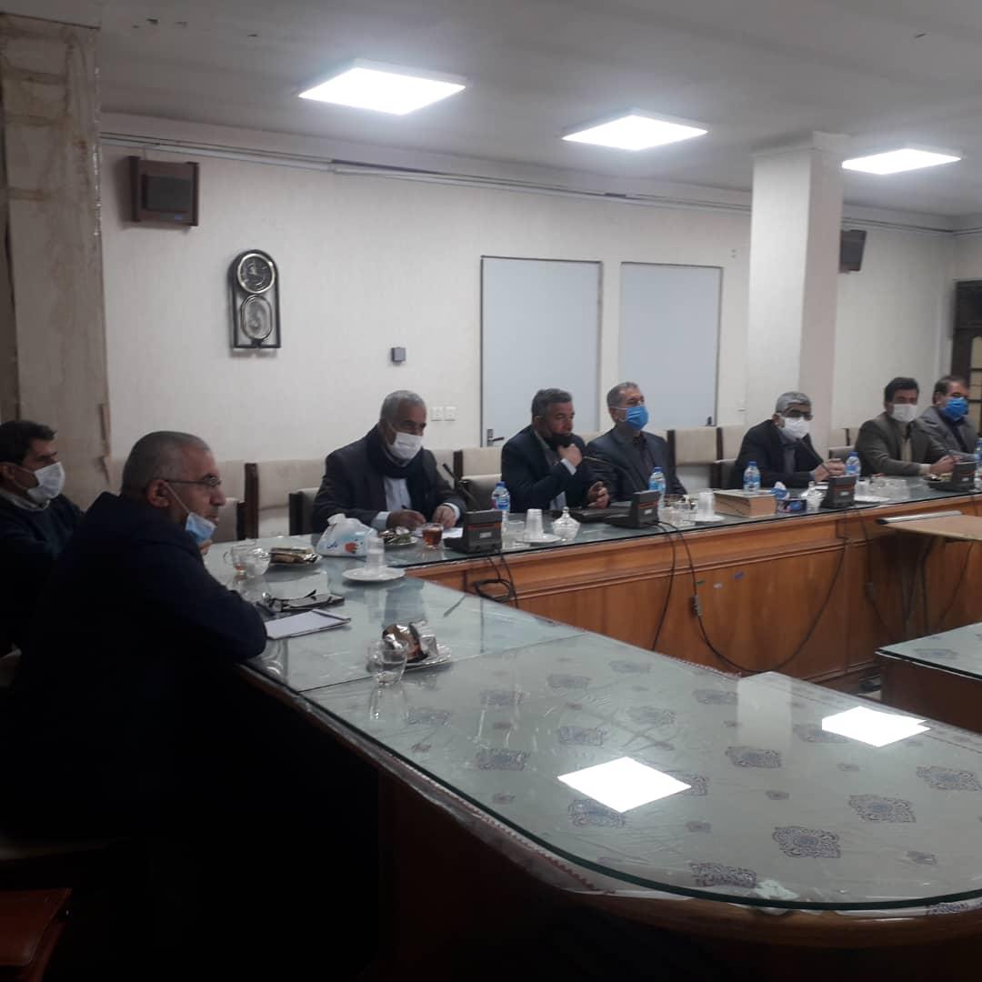 حاضرین در جلسه شبکه ملی مردمی بکوجا ساری
