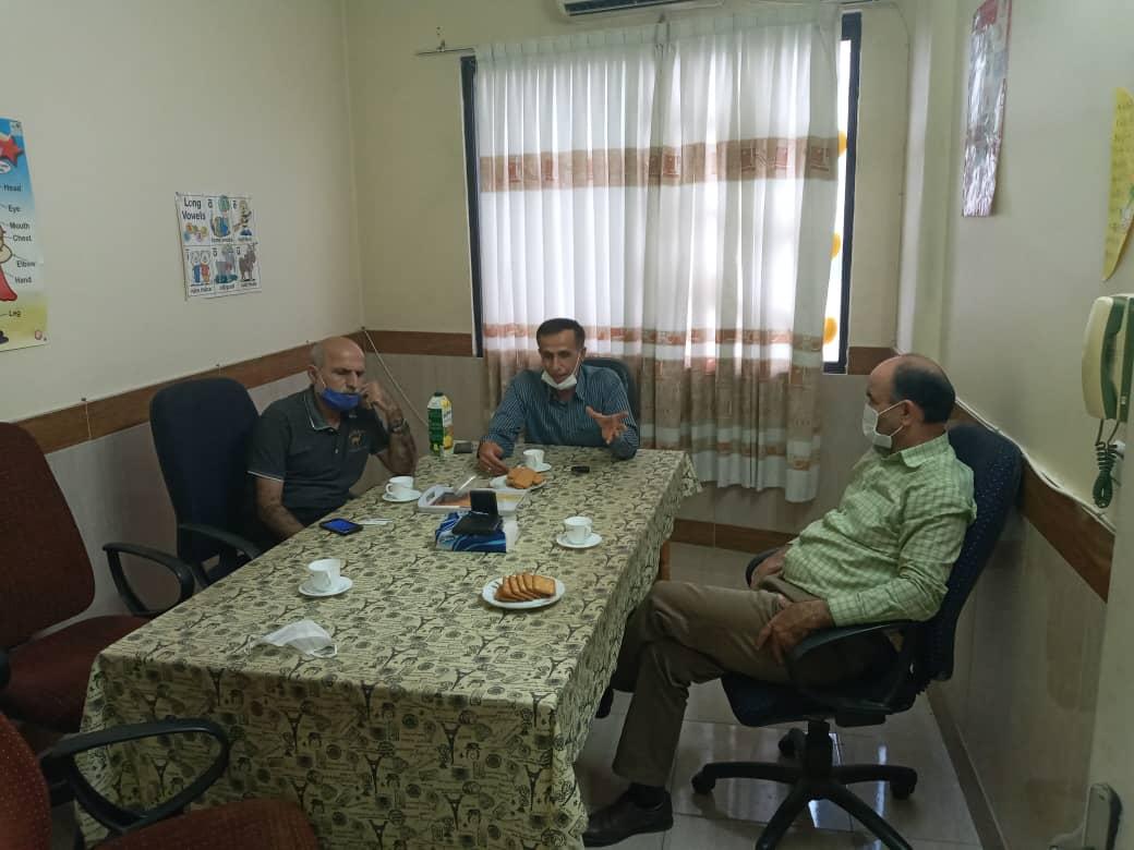حشمت الله سبطی-محسن سلطانی- دکتر کربلایی-مهندس حسینیان